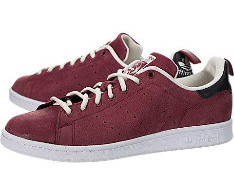 Adidas Women's Stan Smith W Red/Red/Cwhite Casual Shoe 9