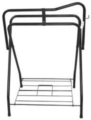 Partrade Standing Saddle Rack