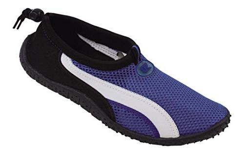 New Starbay Brand Kid's Yellow & Navy Athletic Water Shoes