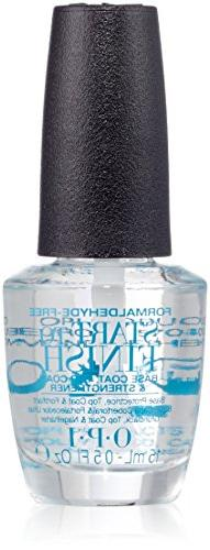 OPI Start-to-finish Base Coat, Top Coat and Nail
