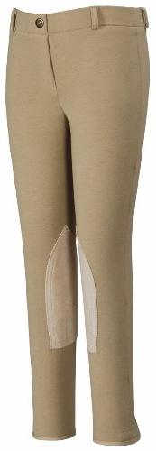 TuffRider Girl's Starter Lowrise Pull-On Breech, Light Tan