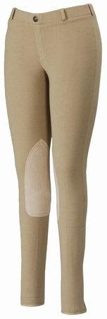 TuffRider Women's Starter Lowrise Pull-On Breech, Light Tan