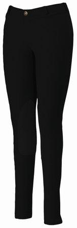 TuffRider Women's Starter Lowrise Pull-On Breech, Black, 26