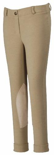 TuffRider Childrens Starter Lowrise Pull On Jods, Light Tan