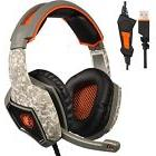 ECOOPRO Stereo USB Gaming Headset with Microphone- Over Ear