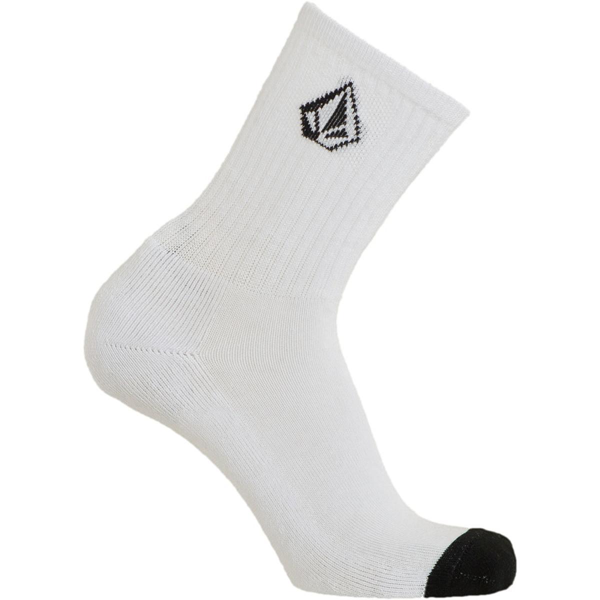 Volcom Full Stone Sock White, One Size