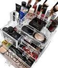 Makeup Storage Box Case Cosmetic Organizer Acrylic Holder