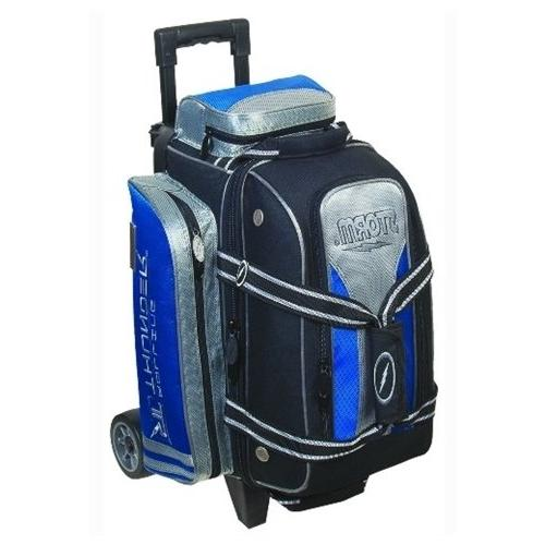 Storm 2 Ball Rolling Thunder Bowling Bag- Blue/Black/Silver