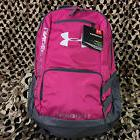 NEW Under Armour Storm Hustle II Backpack - Tropic Pink/Graphite/White