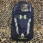 Under Armour Storm Recruit Backpack, Black/Stealth Gray, One