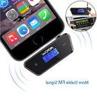 Mpow 3.5mm Streambot Trapezoid FM Transmitter In-car Music