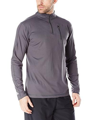 Russell Athletic Men's Stretch Performance 1/4 Zip Jacket,