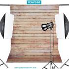 Neewer 5x7ft Striped Wooden Cotton Backdrop Background for