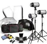Strobe Studio Flash Light Kit 900W - Photographic Lighting