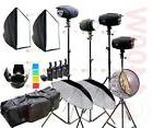 New 800W Studio Strobe Flash Light Kit 2 x 400W Photography