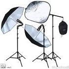 Studio Video Strobe Flash Lighting Light Stand Boom Umbrella