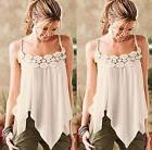 Fashion Women Summer Vest Top Sleeveless Blouse Casual Tank