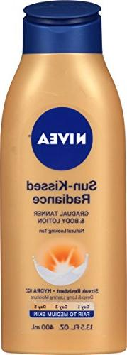 NIVEA Sun-Kissed Radiance Fair to Medium Skin Gradual Tanner