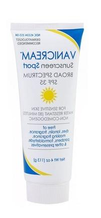 Vanicream Sunscreen Broad Spectrum SPF 35 Sport 4 Oz - Pack