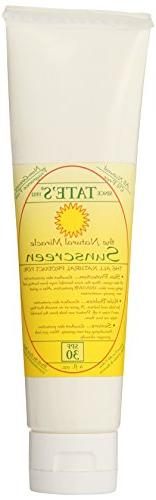 Tate's The Natural Miracle Sunscreen - SPF 30 - 4 oz