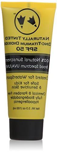 2.5 oz. SPF 50 Facial Creme-Tinted Vacuum PUMP