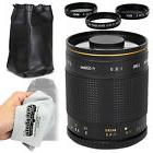 Super 500mm f/8 HD Mirror Telephoto Zoom Lens for Nikon DSLR