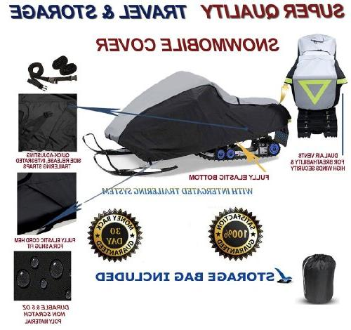 Super Quality Trailerable Snowmobile Sled Cover fits Arctic