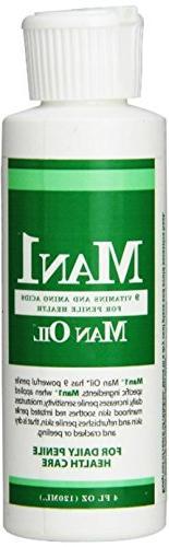 """Man1 Man Oil"" 4 oz, Natural Penile Health Cream. 3 month"