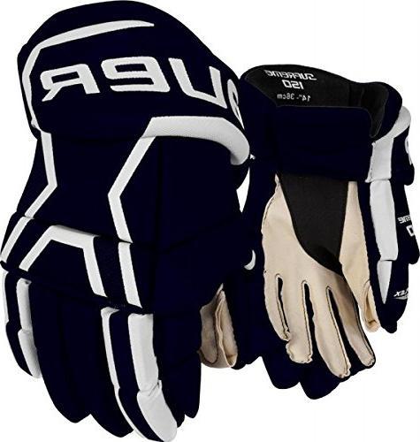Bauer Junior Supreme 150 Glove, Red, 12
