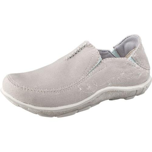 Cushe Womens Surf Slipper Canvas Light Grey - 41 M EU