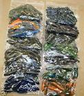 "4"" Swimming Craw Assortment Bass Plastics 48 count bag worm"