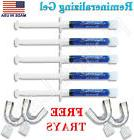 5 Syringes of Remineralization Gel for After TEETH WHITENING
