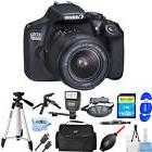 Canon T6 / 1300D 18MP with EF-S 18-55mm f/3.5-5.6 III Lens!