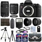 Canon T6s / 760D DSLR Camera + 4 Lens Kit 18-55 STM + 75-300