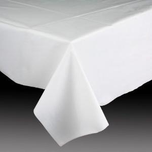 Amscan Vintage Rectangular Lace Plastic Party Table Cover,
