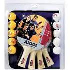 Joola Table Tennis Ping Pong Family Set 14 Pc Racket Balls