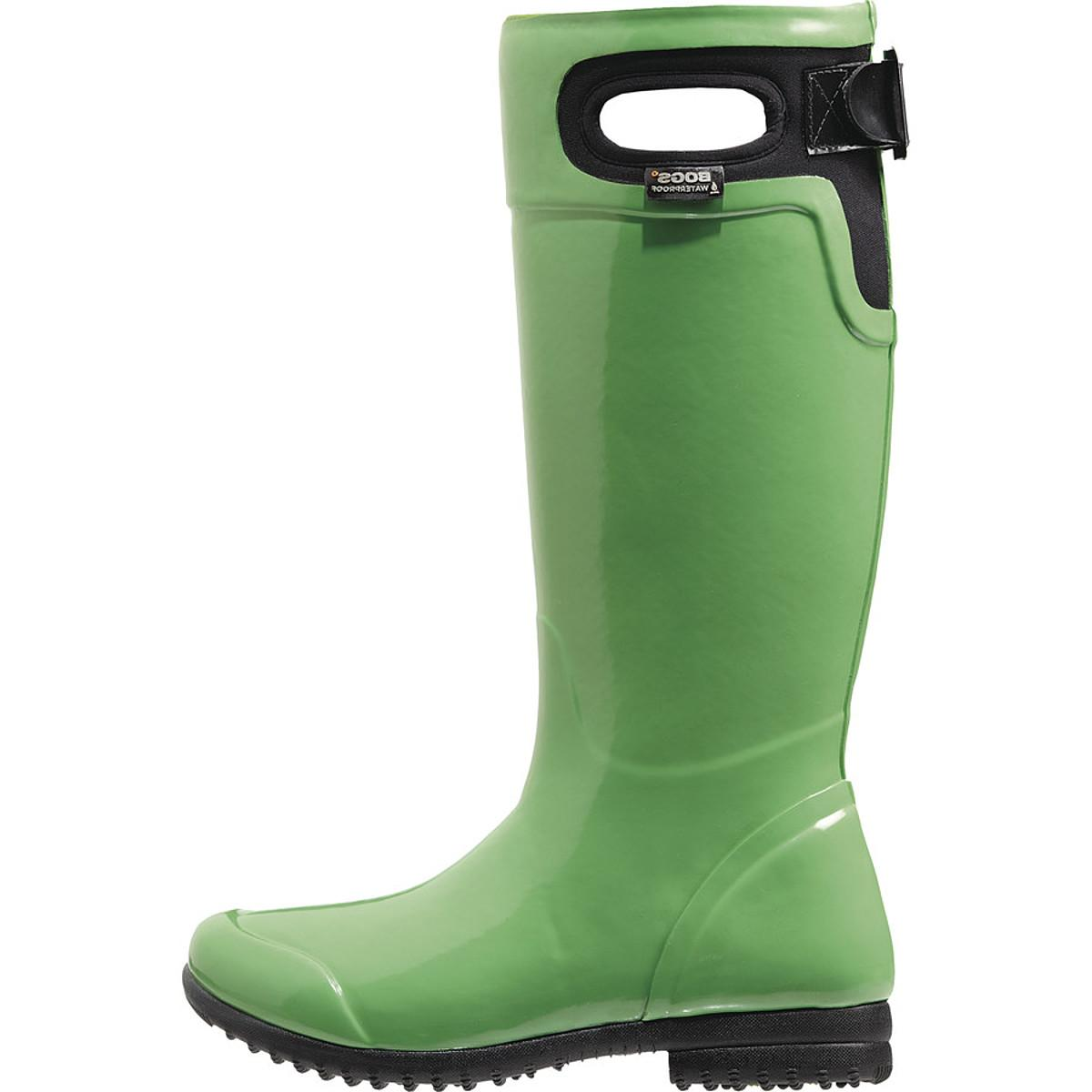 Bogs Tacoma Tall Boot - Women's Leaf Green, 8.0