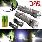 2 x Ultrafire 8000Lumen Tactical T6 LED Flashlight Torch+