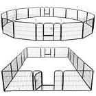 24 Inch Tall Dog Playpen Large Crate Fence Pet Play Pen
