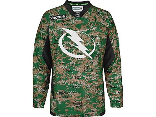 Tampa Bay Lightning Edge Camouflage Pre-Game Warm Up Jersey