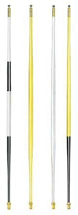 7 ft. 6 in. Tapered Fiberglass Tournament Flagsticks - Set