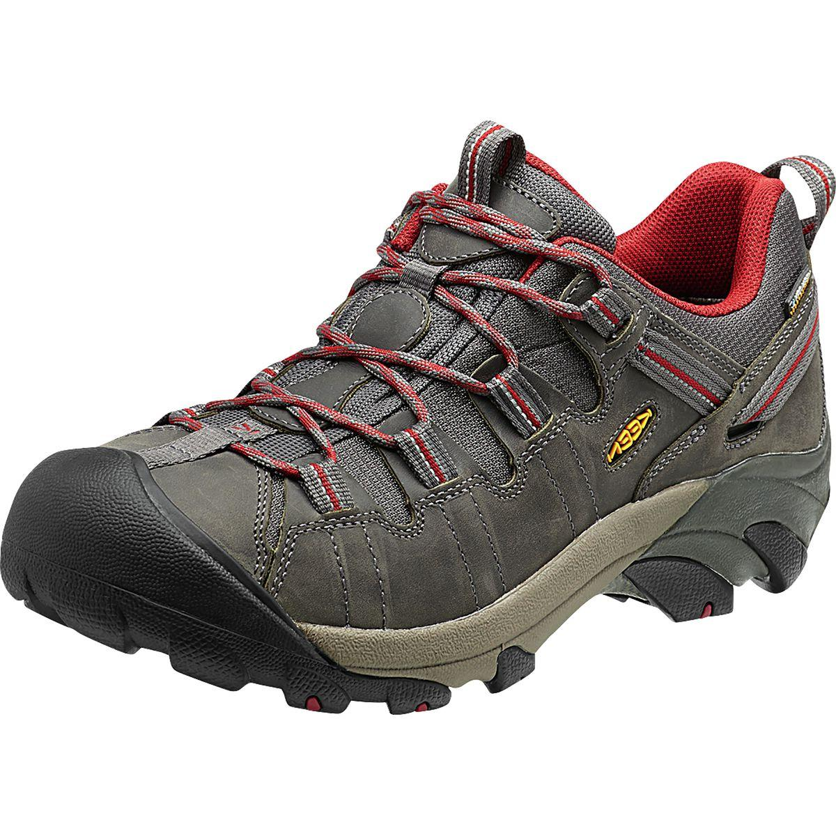 KEEN Targhee ll Hiking Shoe - Men's Gargoyle/Midnight Navy,