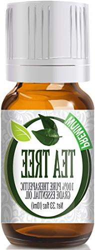 Tea Tree 100% Pure, Best Therapeutic Grade Essential Oil -