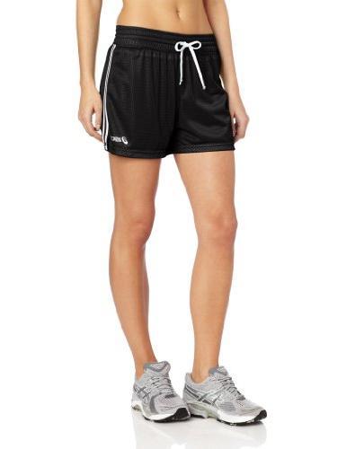 Asics Women's Team Mesh Short, White, Small