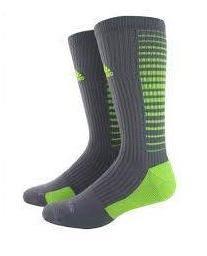 Adidas Team Speed Vertical Crew Socks - Large