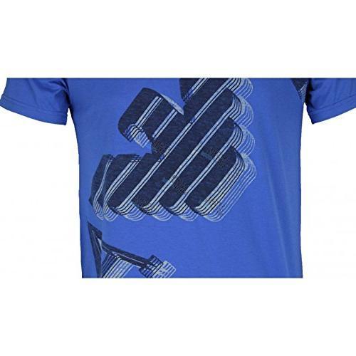 Armani Men's Emporio Crew Neck T-Shirt XS Blue