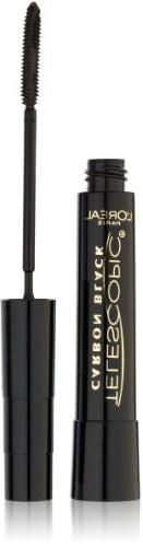 L'Oreal Paris Telescopic Mascara, Carbon Black, 0.27 Ounces