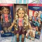 """American Girl TENNEY 18"""" Doll Long Blonde Hair Brown Eyes"""