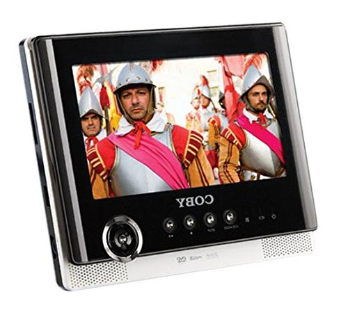 Coby TFDVD7751 7-Inch Tablet Portable Dual Screen DVD Player