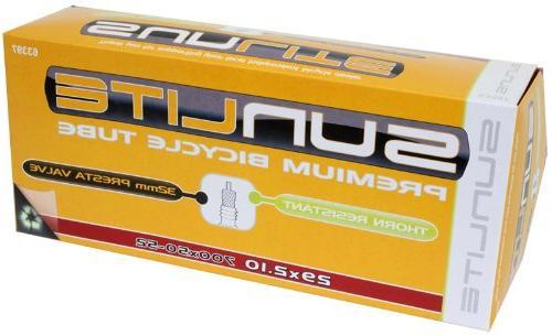 Sunlite Thorn Resistant Presta Valve Tubes, 29 x 1.95 - 2.125